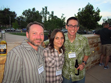 Enjoyed hanging out with friends at the herpetological meetings.