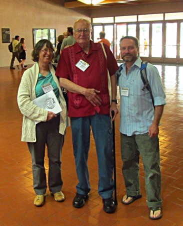 Herpetological meetings are always special when I get to viti with old friends like Marty Crump and Vic Hutchison.