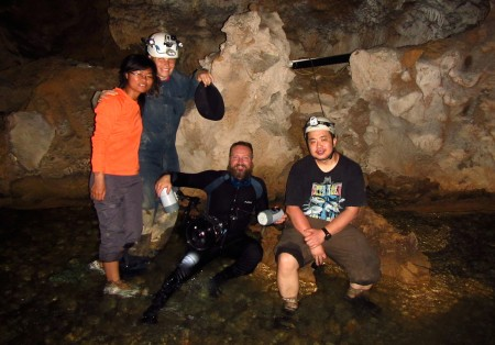 We all had a great time caving for almost 5 weeks