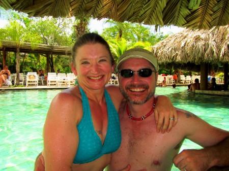 Beth and I @ Caldas Novas, Goias, Brasil.